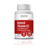Natural Vitamin K2 100mcg 60 cps