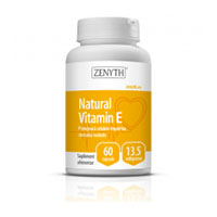 Natural Vitamin E 13,5mg 60 cps