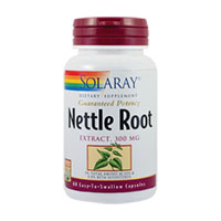 Nettle Root (Urzica) 60 cps, Solaray