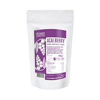 Acai pulbere raw bio 100 g, Dragon Superfoods