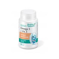Omega 3 + Vitamina E 30 cps, Rotta Natura