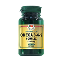 Omega 3-6-9 Complex 1206mg 60cps, Cosmo Pharm