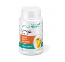 Omega 3 - 6 - 9 30 cps, Rotta Natura