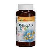 Omega 3 natural pentru copii 100 cps, Vitaking