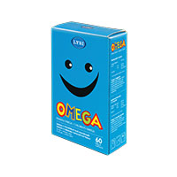 Omega-3 pentru copii 60 cps masticabile, Lysi