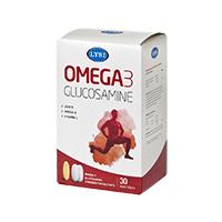 Omega 3 Glucosamine (30cps+60tbl), Lysi