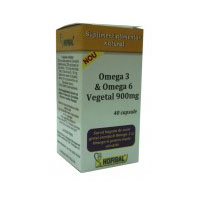 Omega - 3 & Omega - 6 vegetal 900mg 40 cps, Hofigal