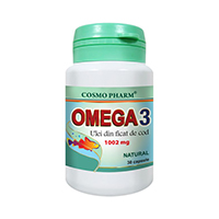 Omega 3 Ulei din Ficat de Cod 30 cps, Cosmo Pharm