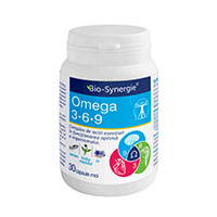 Omega 3-6-9 30 cps, Bio Synergie