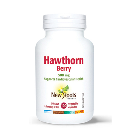 Hawthorn (Paducel rosu) 500mg 90 cps, New Roots