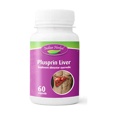 Plusprin Liver 60 cps, Indian Herbal