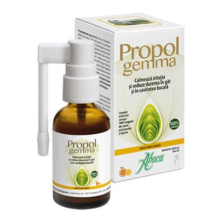Propolgemma spray forte adulti 30 ml, Aboca
