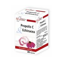 Propolis C & Echinaceea 30 cps, Farmaclass