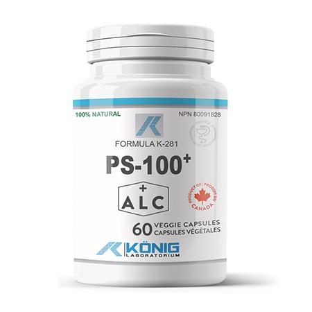 PS-100 forte (fosfatidilserina) 100 mg Konig Nutrition, 60 cps