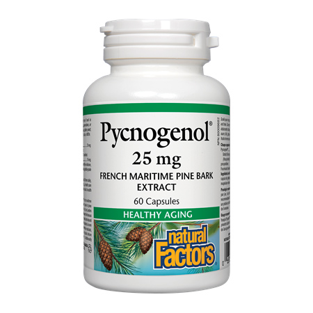 Pycnogenol 25mg 60 cps, Natural Factors