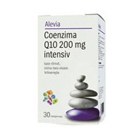 Coenzima Q10 200 mg intensiv 30 cps, Alevia