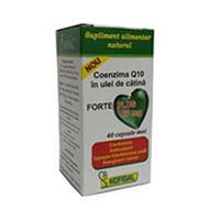 Coenzima Q10 in ulei de catina forte plus 60mg 40 cps, Hofigal