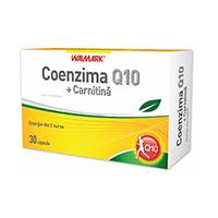 Coenzima Q10 + Carnitina 30 cps, Walmark