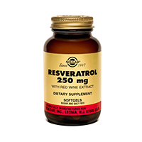 Resveratrol 250 mg 30 softgels
