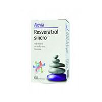 Resveratrol sincro 60 cpr, Alevia