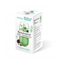 Resveratrol forte + CoQ10 30 cps, Rotta Natura