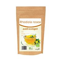 Rhodiola rosea pulbere raw bio 125g, Obio