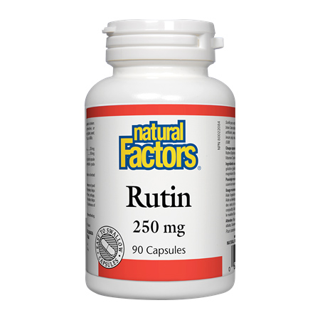 Rutin cu vitamina C 250 mg 90 cps, Natural Factors