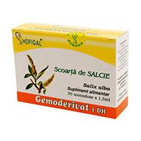Scoarta de salcie - Gemoderivat 30 monodoze, Hofigal