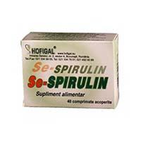 Se-Spirulin 40 cpr, Hofigal