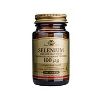 Selenium 100mcg 100 tbl, Solgar