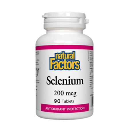 Selenium (Seleniu forte) 200 mcg 90 tbl, New Factors