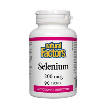 Selenium (Seleniu forte) 200 mcg 90 tbl, New Factors
