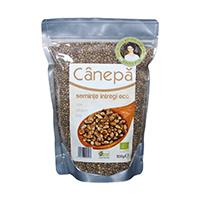 Seminte de canepa intregi raw bio 500g, Obio