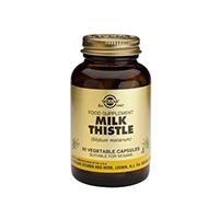 Silimarina (Milk Thistle) 50 cps, Solgar