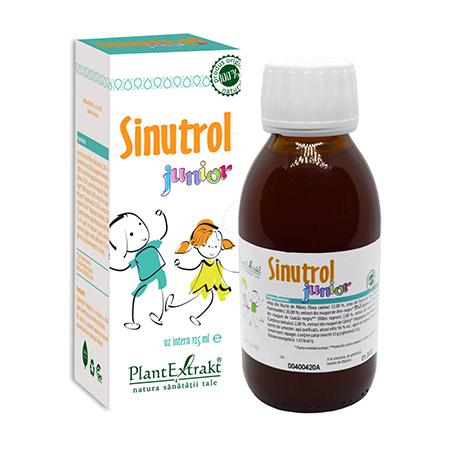 Sinutrol junior - Sirop 125ml, Plantextrakt