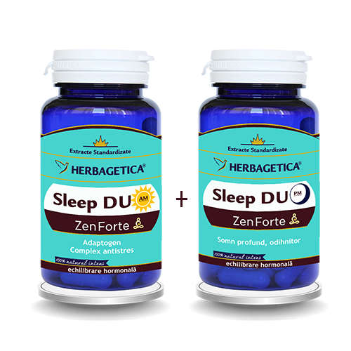 Sleep Duo AM/PM  60cps+60cps, Herbagetica