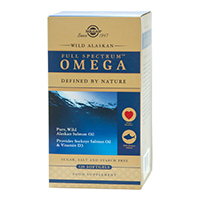 Spectru complet Omega (Full Spectrum) din Somon Salbatic de Alaska 120cps, Solgar