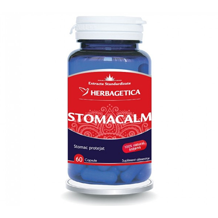 StomaCalm 60 cps, Herbagetica