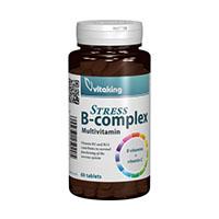Stress B complex cu vitamina C 60 cpr, Vitaking