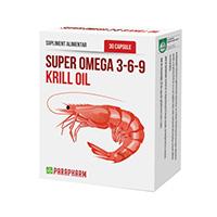 Super Omega 3-6-9 Krill Oil 30 cps, Parapharm