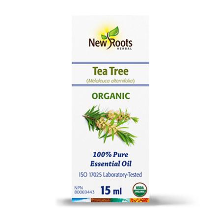 Tea Tree Essential Oil - Ulei esential din Arbore de ceai (Melaleuca alternifolia) 15ml, New Roots