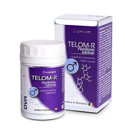 Telom-R Fertilitate Barbati 120 cps, DVR Pharm