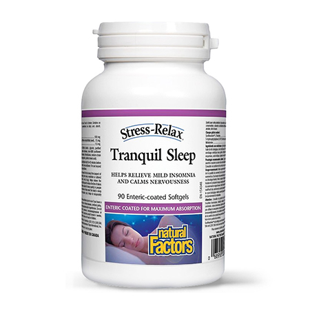 Tranquil Sleep (somn adanc) 90 cps, Natural Factors