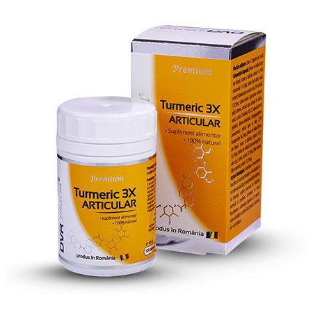 Turmeric 3X articular 120 cps, DVR Pharm