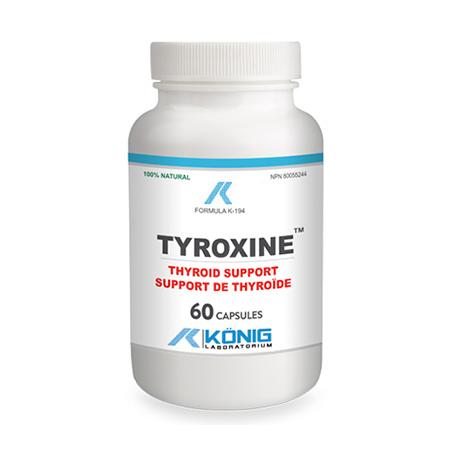 Tyroxine 60 cps, Konig