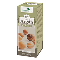 Ulei de Argan Virgin 10ml, Transvital