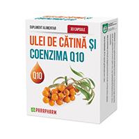 Ulei de catina si coenzima Q10 30 cps, Parapharm