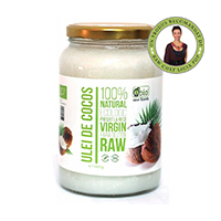 Ulei de cocos virgin raw bio 1400g, Obio