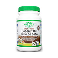Ulei de cocos cu Omega-3 60 cps