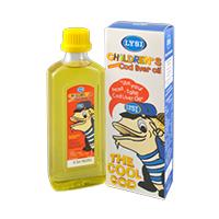 Ulei din ficat de cod pentru copii 240 ml, Lysi